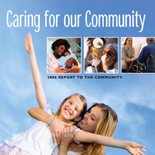 Annual Report To The Community Cover - 2006